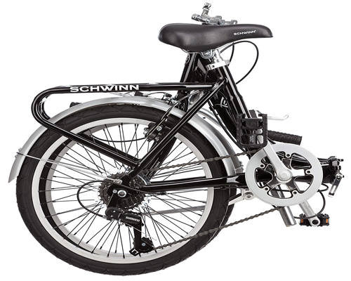 schwinn 20-inch loop folding bike reveiw