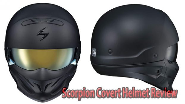 Scorpion Covert Style Matte Black Helmet Review