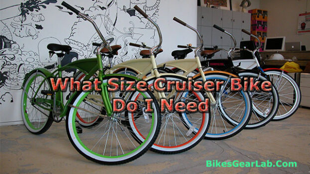 What Size Cruiser Bike Do I Need