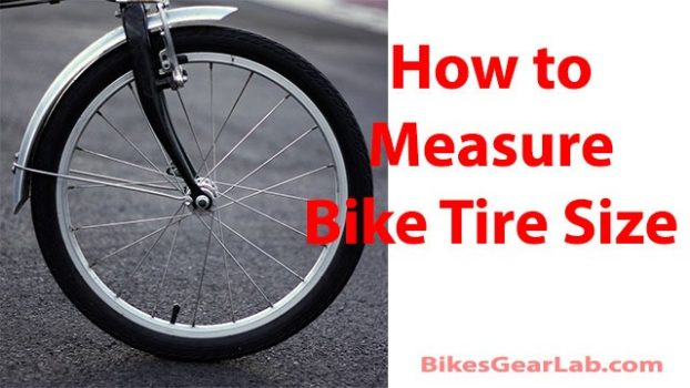 How to Measure Bike Tire Size