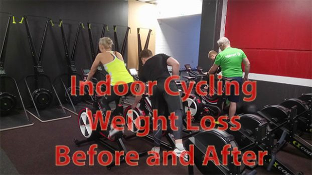 indoor cycling weight loss before and after